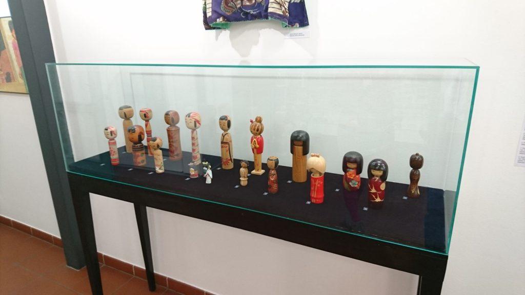 lalki japońskie - wystawa w toruniu