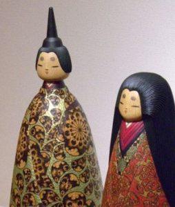 kokeshi hina ningyō