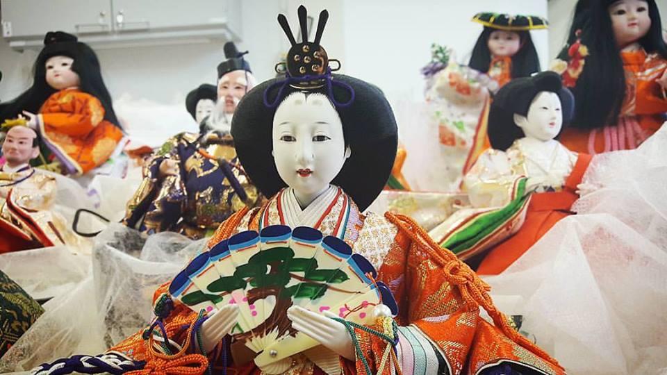 lalki japońskie gdzie zobaczyć Muzeum Azji i Pacyfiku ningyo