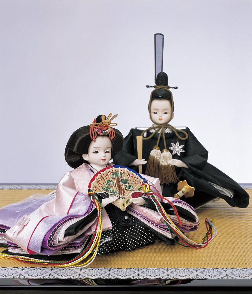 współczesne hina ningyō - princess hina